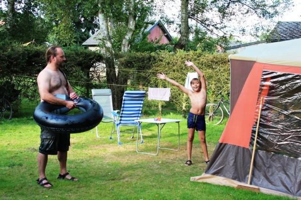 kampeerplaats. camping Les Murets 2